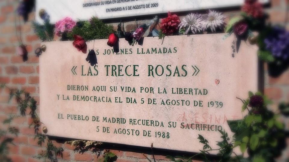 77 Aniversario asesinato de 13 Rosas